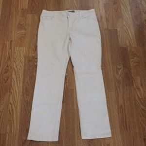 Chico's So Slimming White Jeans Sz 1 Short